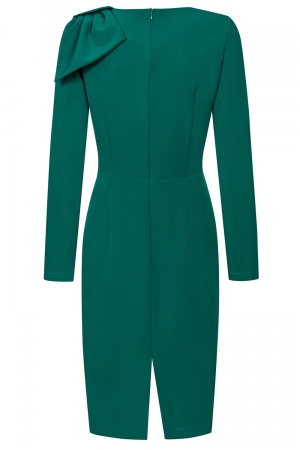 Green pencil midi dress Bridget by Swing
