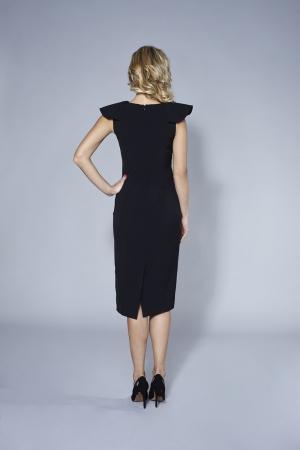 39c55e2bbe Czarna sukienka ROSALIA By SWING Czarna sukienka ROSALIA By SWING