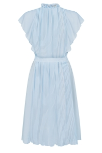 Baby blue pleated dress Harmony by Swing