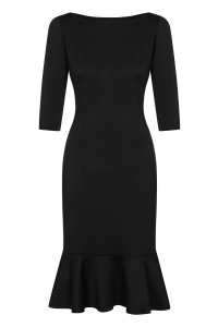 9a81c00b8a Czarna dopasowana sukienka Nomi by Swing ...