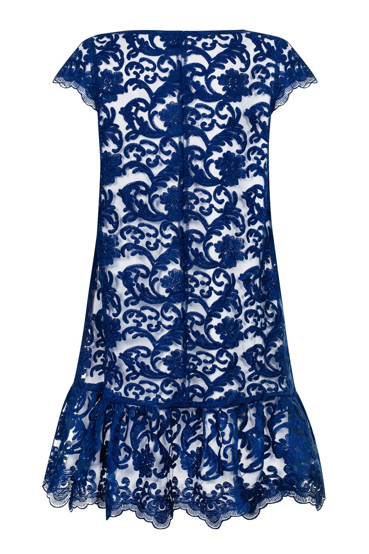 eb9a710869 Granatowa koronkowa sukienka Pucci by Swing SWING FASHION STORE