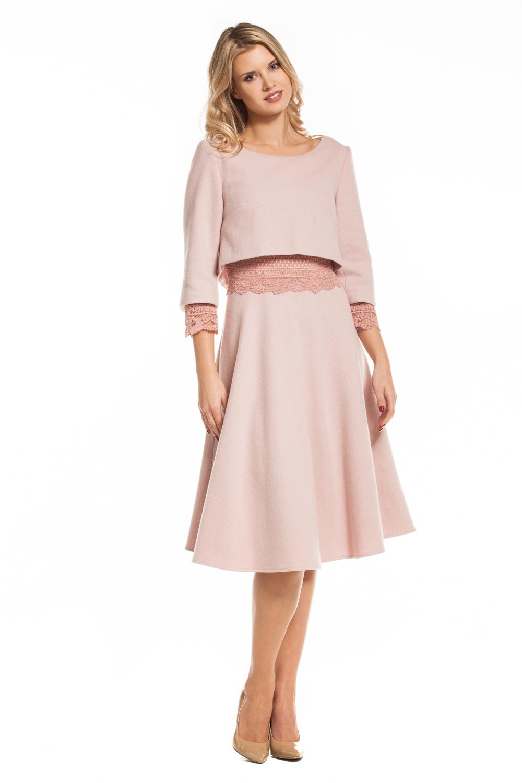 04c0b1a8 Ręcznie szyta wełniana sukienka Imani by SWING