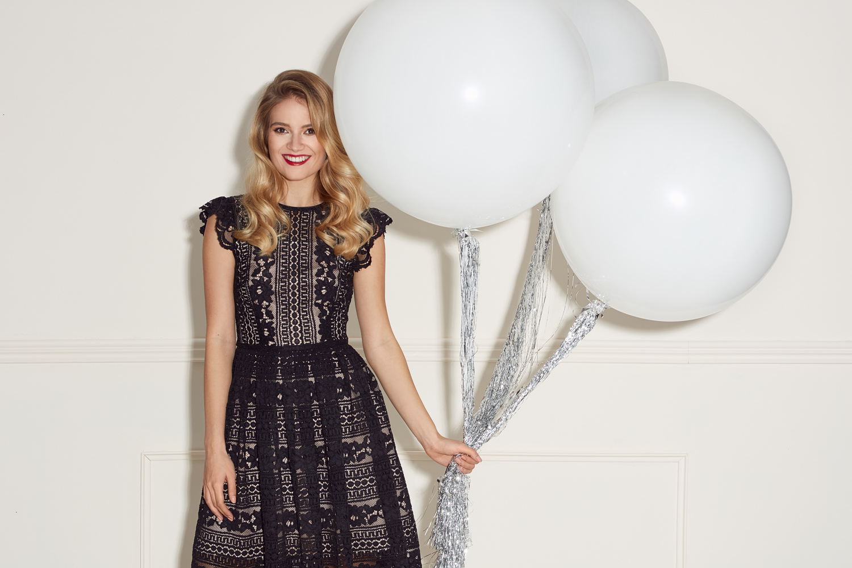 7c53c509da Czarna koronkowa sukienka SOFIA Swing. SWING2031.jpg. SWING2031. ...