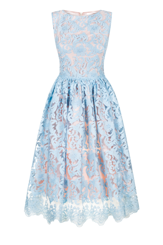 ff9cad746dc Light blue lace midi dress Cherry by Swing. Błękitna koronkowa sukienka midi  CHERRY SWING. Błękitna koronkowa sukienka midi CHERRY SWING ...